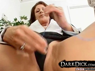 white d like to fuck copulates darksome cock aged