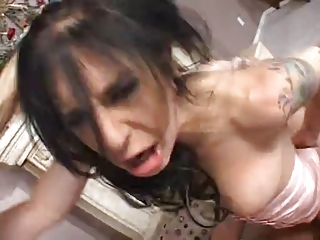 breasty and sexy mommy gets coarse fucked