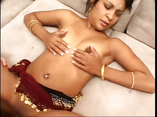 fucking his cute indian wife !