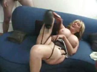 aged woman acquires 8 dicks
