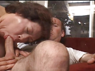 older big beautiful woman getting satisfied