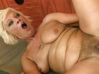 naughty granny enjoys good fucking