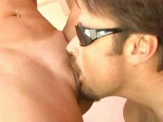 sexy golden-haired milf t.j. hart trades oral and
