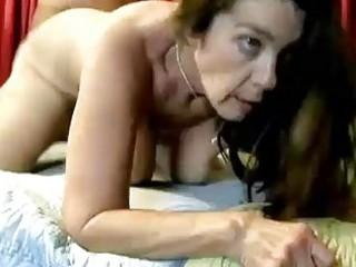perverted older honey enjoys a hard fucking