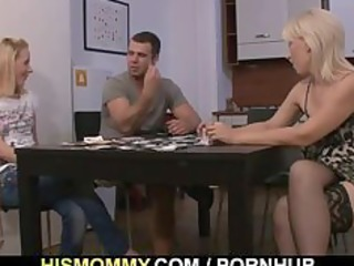 undress poker leads to pussy toying