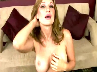cougar mama takes her time to acquire stripped
