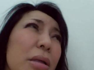 47yr old granny yukari kirishima creamed