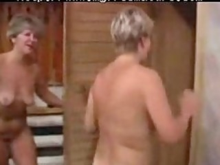 sexy granny lady with a youthful boy older aged