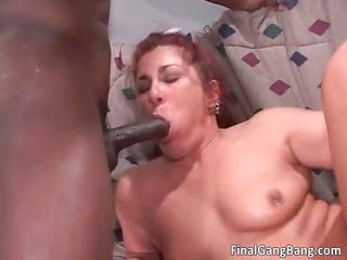 wicked redhead hoe sucks stiff cock