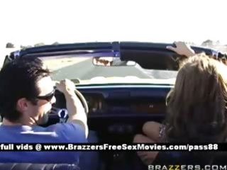 aged busty wife acquires dressed goes for a ride
