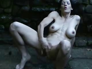 great squirting outdoor of hot mature. dilettante