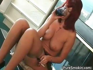 large titties red head love tunnel smokin slavery