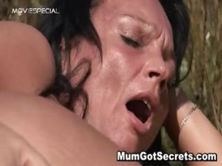 horny mother i receives drilled hard outdoor part2