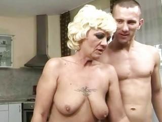 hot granny enjoys good fucking