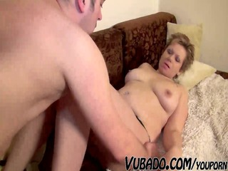 older woman enjoys sex with bf !!