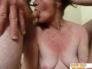 horny granny needs six cocks