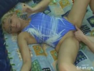 older blonde mother extreme huge insertions.
