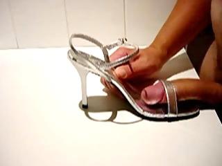 wife heels spunk flow