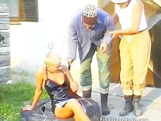 hot golden-haired milf wench blows rod part0