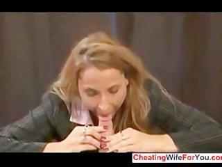 sexy mom make son cum