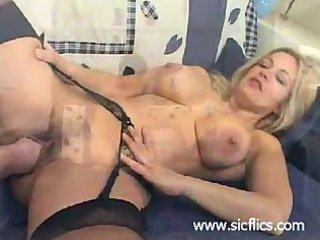 blond wife fisted