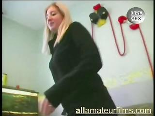european non-professional slut