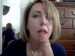 cum in throat at horny wife