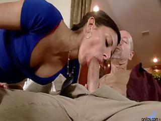 slim wife comes home and blows spouse