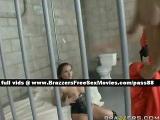blameless redhead beauty in the prison