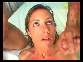 horny d like to fuck receives a double facial