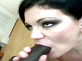 busty bulky d like to fuck charlie cumming on a