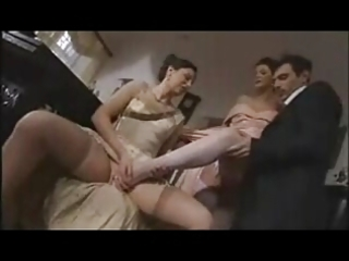 french aged in nylons sm46