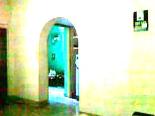 hidden web camera of my mamma walking after baths