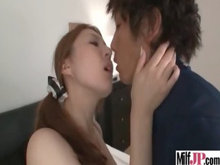 hardcore sex action with breasty sexy asian