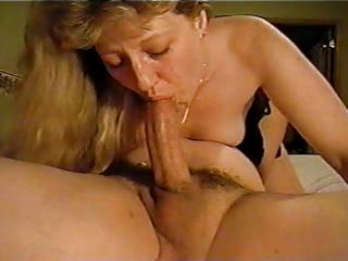 debbie doing the deepthroat (mature)
