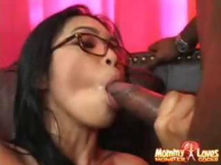 nerdy dilettante asian mommy acquires a large