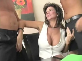 mature divorced housewife - double penetration