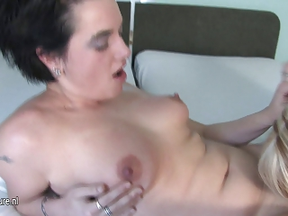 blond mature lesbian needs a younger love tunnel