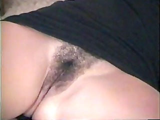 sexy dilettante hotty shows pussy---home made vid
