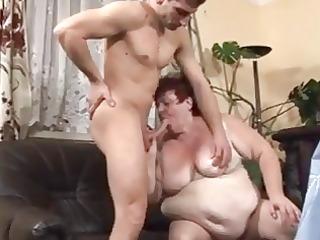 big beautiful woman maid drilled