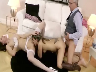 lucky old guy gets to fuck a juvenile and older