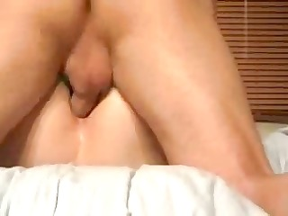 hubby fuck my butt hard! painfully orgasm!