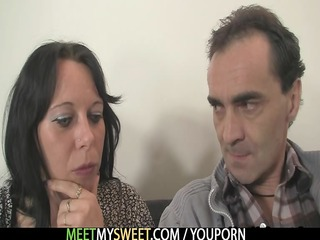 his gf in threesome with his parents