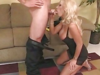 Sassy milf brittany andrews teaches a young prick