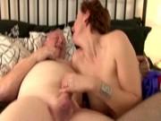 aged lustful nylons slut receives fucked