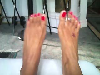 my wifes hawt feets